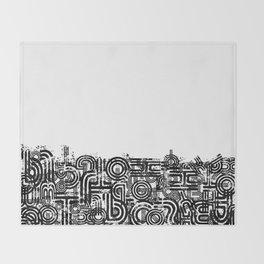 Disorganized Speech #2 Throw Blanket