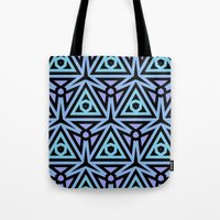 technology Tote Bags featuring Alien Technology by Lyle Hatch