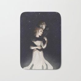 There is no light without darkness Bath Mat