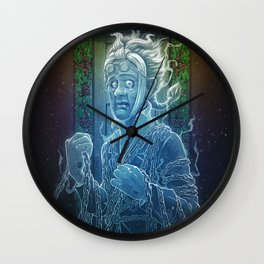 Marley's Christmas Carol Wall Clock