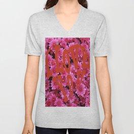 loves flower Unisex V-Neck