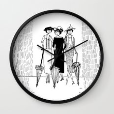 when it rains it pours Wall Clock