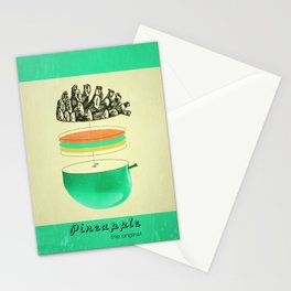 pineapple, the original Stationery Cards