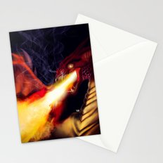 Fire Breather Stationery Cards