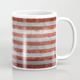 USA flag, retro style Coffee Mug