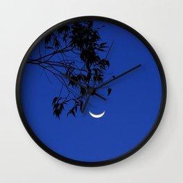 Smiling Moon Wall Clock