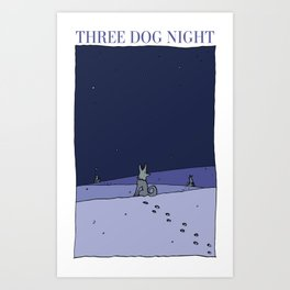 Three Dog Night Art Print