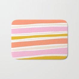 del mar, 70's stripes Bath Mat