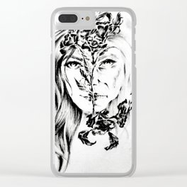 Antagony Clear iPhone Case