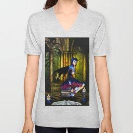 Dark Fairy Unisex V-Neck