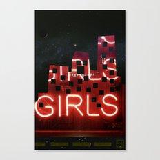 girls night ;) Canvas Print