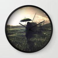 let it go Wall Clocks featuring Let Go by thegentlemanbronco