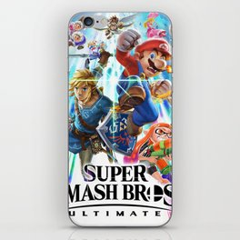 Super Smash Bros All Characters iPhone Skin
