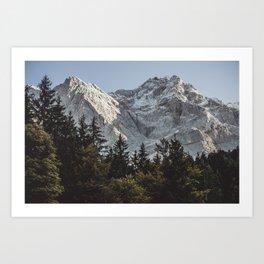 Bavarian Alps, Germany, Europe Art Print