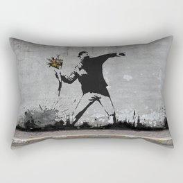 Banksy Rectangular Pillow
