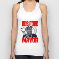 ford Tank Tops featuring ROB FORD by JASONJAMES