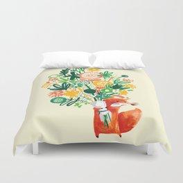 Flower Delivery Duvet Cover