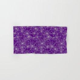 Purple Cobwebs Hand & Bath Towel