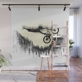 MTB Moon Forest Wall Mural