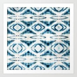 BOHEMIAN BLUES Art Print