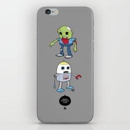 Zombie+Bot iPhone Skin
