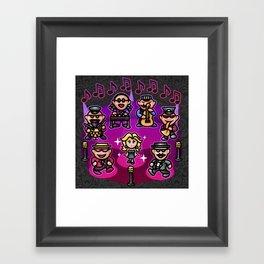 Runaway 5 Feat Venus Framed Art Print