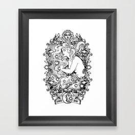 Cosmic Lover Framed Art Print