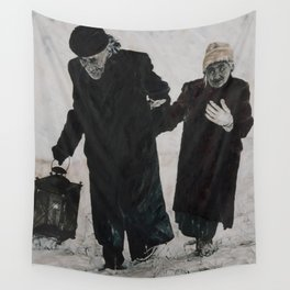 Time Story:  Storyboard VII Wall Tapestry