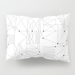 LINES OF CONFUSION Pillow Sham