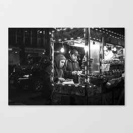 Street Food in NYC Canvas Print