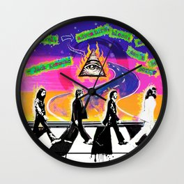 On the Abbey Road Wall Clock