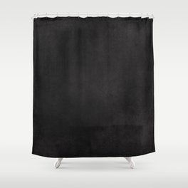 Simple Chalkboard background- black - Autum World Shower Curtain