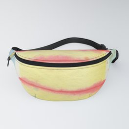 Red Lines Fanny Pack