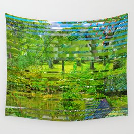Landscape of My Heart (4 as 1) Wall Tapestry