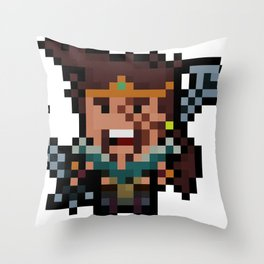 The League of Draven Throw Pillow