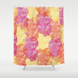 Tide pool Collection Shower Curtain