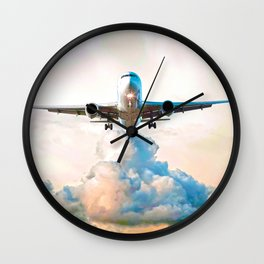 The Miracle of Flight Wall Clock