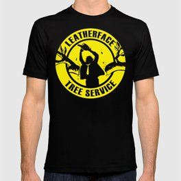 Leatherface Tree Service T-shirt