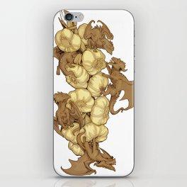 Garlic Dragon Flies iPhone Skin