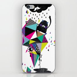 Creepy World iPhone Skin