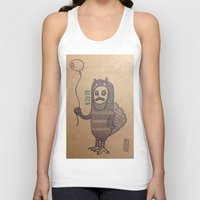 grumpy Tank Tops featuring grumpy by MRjay
