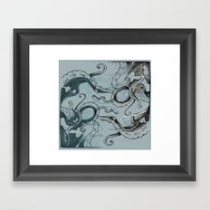 Even .. More .. TentacleS ..  Framed Art Print