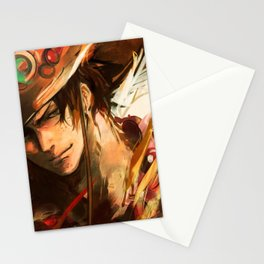 Portgas D Ace OnePiece Stationery Cards