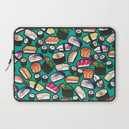 Sushi Aqua Laptop Sleeve
