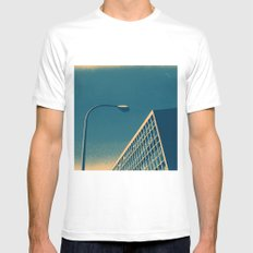POP architecture  Mens Fitted Tee White MEDIUM