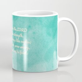 Hope in the Lord Bible Verse, Isaiah 40:31 Coffee Mug