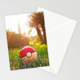 Pokeball Stationery Cards