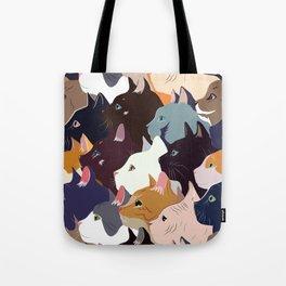 variety of cats Tote Bag