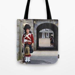 Guard of the Halifax Citadel Tote Bag
