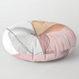 Modern Abstract Art IX Floor Pillow